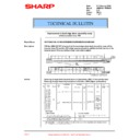 Sharp AR-M35, AR-M450 (serv.man68) Technical Bulletin