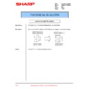 Sharp AR-M35, AR-M450 (serv.man69) Technical Bulletin