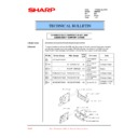 Sharp AR-M35, AR-M450 (serv.man70) Technical Bulletin
