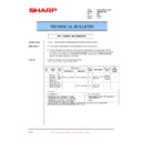 Sharp AR-M35, AR-M450 (serv.man71) Technical Bulletin
