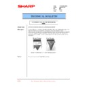 Sharp AR-M35, AR-M450 (serv.man72) Technical Bulletin