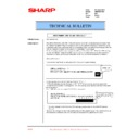 Sharp AR-M35, AR-M450 (serv.man74) Technical Bulletin