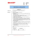 Sharp AR-M35, AR-M450 (serv.man75) Technical Bulletin