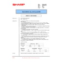 Sharp AR-M35, AR-M450 (serv.man77) Technical Bulletin