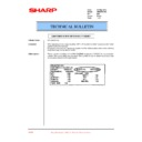 Sharp AR-M35, AR-M450 (serv.man79) Technical Bulletin