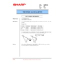 Sharp AR-M35, AR-M450 (serv.man80) Technical Bulletin