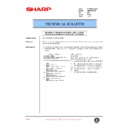 Sharp AR-M35, AR-M450 (serv.man83) Technical Bulletin