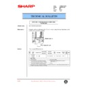 Sharp AR-M35, AR-M450 (serv.man85) Technical Bulletin