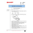 Sharp AR-M35, AR-M450 (serv.man86) Technical Bulletin