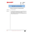 Sharp AR-M35, AR-M450 (serv.man87) Technical Bulletin