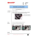 Sharp AR-M35, AR-M450 (serv.man88) Technical Bulletin