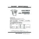 Sharp AR-M35, AR-M450 (serv.man9) Service Manual