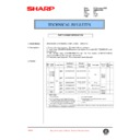 Sharp AR-M35, AR-M450 (serv.man91) Technical Bulletin