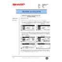 Sharp AR-M35, AR-M450 (serv.man92) Technical Bulletin