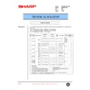 Sharp AR-M35, AR-M450 (serv.man93) Technical Bulletin