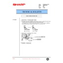 Sharp AR-M35, AR-M450 (serv.man95) Technical Bulletin