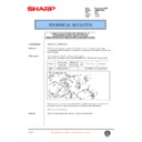 Sharp AR-M35, AR-M450 (serv.man98) Technical Bulletin