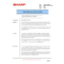 Sharp AR-M351N, AR-M451N (serv.man40) Technical Bulletin