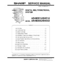 Sharp AR-M351U, AR-M451U (serv.man3) Service Manual