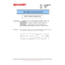 Sharp AR-M351U, AR-M451U (serv.man42) Technical Bulletin