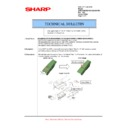 Sharp AR-M351U, AR-M451U (serv.man44) Technical Bulletin