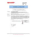 Sharp AR-M351U, AR-M451U (serv.man45) Technical Bulletin