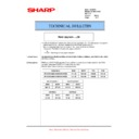 Sharp AR-M351U, AR-M451U (serv.man46) Technical Bulletin