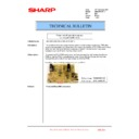 Sharp AR-M351U, AR-M451U (serv.man47) Technical Bulletin