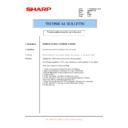 Sharp AR-M351U, AR-M451U (serv.man48) Technical Bulletin