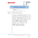 AR-M351U, AR-M451U (serv.man50) Technical Bulletin