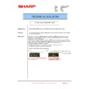 Sharp AR-M351U, AR-M451U (serv.man51) Technical Bulletin