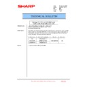 Sharp AR-M351U, AR-M451U (serv.man52) Technical Bulletin