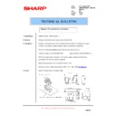 Sharp AR-M351U, AR-M451U (serv.man53) Technical Bulletin