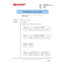 Sharp AR-M351U, AR-M451U (serv.man56) Technical Bulletin
