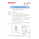 Sharp AR-M550 (serv.man102) Technical Bulletin