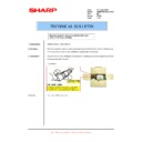 Sharp AR-M550 (serv.man105) Technical Bulletin