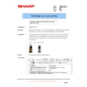 Sharp AR-M550 (serv.man108) Technical Bulletin