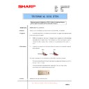 Sharp AR-M550 (serv.man116) Technical Bulletin