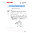 Sharp AR-M550 (serv.man119) Technical Bulletin