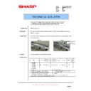 Sharp AR-M550 (serv.man122) Technical Bulletin