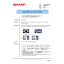 Sharp AR-M550 (serv.man124) Technical Bulletin