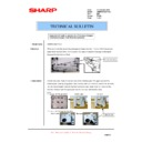 Sharp AR-M550 (serv.man126) Technical Bulletin