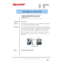 Sharp AR-M550 (serv.man128) Technical Bulletin