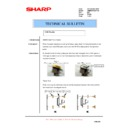 Sharp AR-M550 (serv.man130) Technical Bulletin