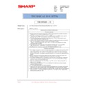 Sharp AR-M550 (serv.man133) Technical Bulletin