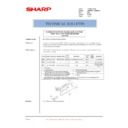 Sharp AR-M550 (serv.man134) Technical Bulletin