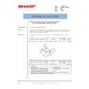 Sharp AR-M550 (serv.man137) Technical Bulletin