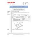 Sharp AR-M550 (serv.man140) Technical Bulletin