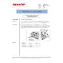 Sharp AR-M550 (serv.man145) Technical Bulletin