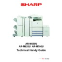 Sharp AR-M550 (serv.man2) Handy Guide